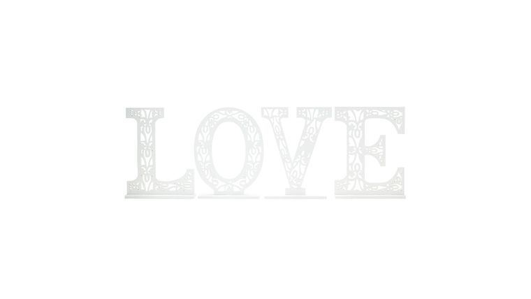 Picture of a 'LOVE' Letters Centerpiece