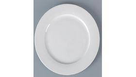Image of a White Porcelain Dinner Plate