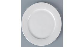 Image of a White Porcelain Salad Plate