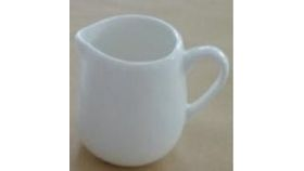 Image of a White Porcelain Small Milk Pot