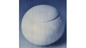 Image of a White Porcelain Sugar Pot
