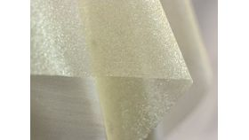 "Image of a 60"" 60"" Square Overlays Gold 905 Sparkle Organza"
