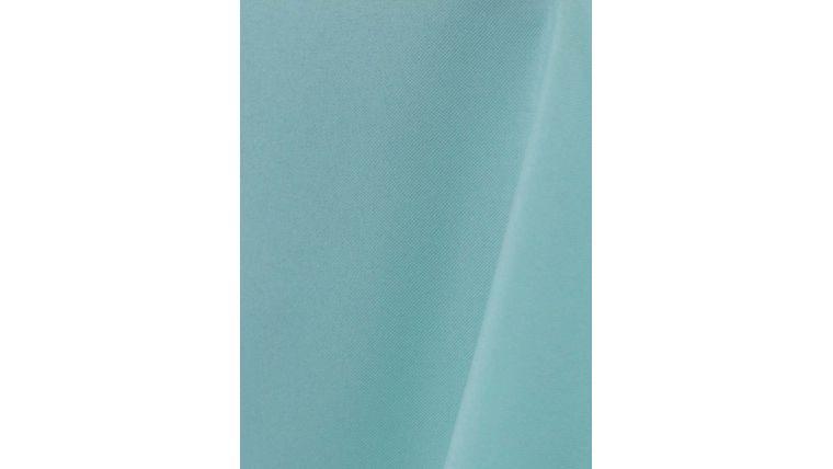 "Picture of a 108"" Round Tablecloths Aqua W18 Value-Tex"
