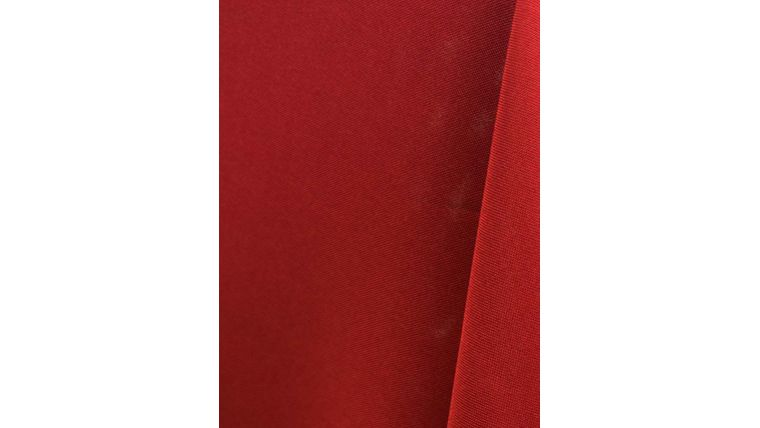 """Picture of a 108"""" Round Tablecloths Cherry Red W59 Value-Tex"""