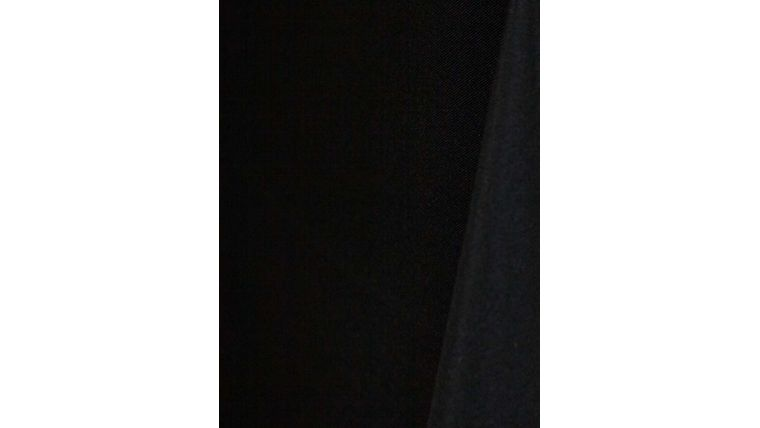 """Picture of a 108"""" Round Tablecloths Black W33 Value-Tex"""
