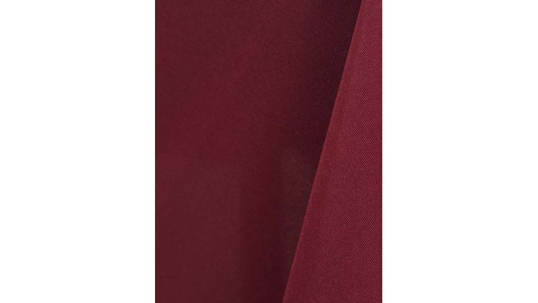 "Picture of a 108"" Round Tablecloths Burgundy W32 Value-Tex"