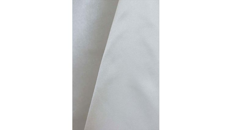 "Picture of a 4"" 108"" Chair Sash Ivory 601 Poly Satin"