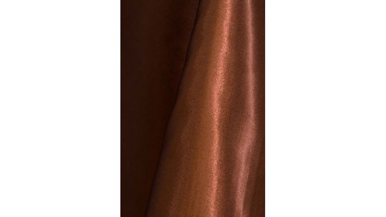 """Picture of a 4"""" 108"""" Chair Sash Copper 606 Poly Satin"""