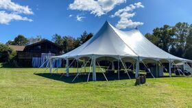 Image of a 40' x 60' High Peak Tension Pole Tent