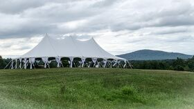 Image of a 40' x 80' High Peak Tension Pole Tent