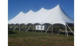 Image of a 40' x 100' High Peak Tension Pole Tent