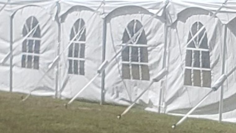 """Picture of a 20' Sidewall Window (40"""" Wide Pole Tent)"""