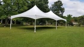 Image of a 20' x 40' High Peak & Sides Frame Tent