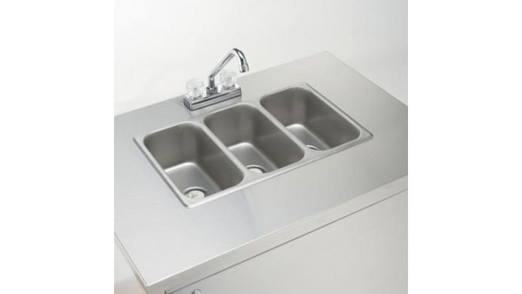 Picture of a Triple Sink