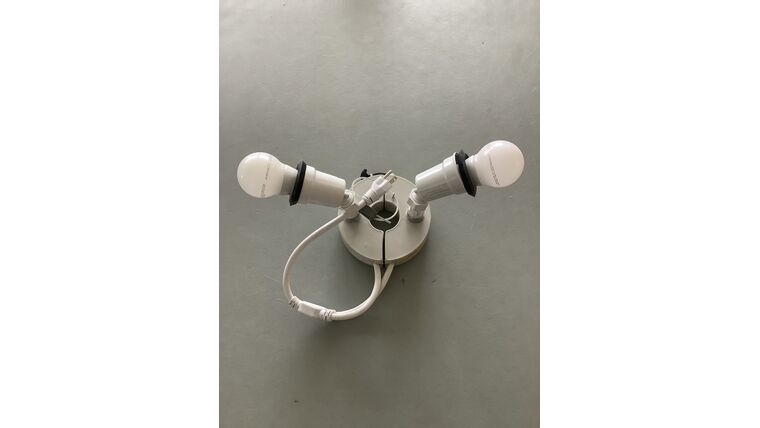 Picture of a Centre Light (2 bulb)