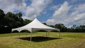 Image of a 30' x 30' High Peak & Sides Frame Tent