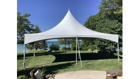 Image of a 20' x 30' High Peak & Sides Frame Tent