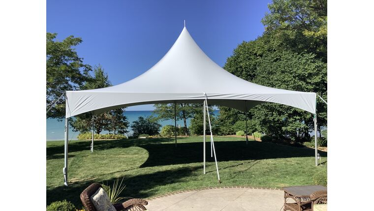 Picture of a 20' x 30' High Peak & Sides Frame Tent
