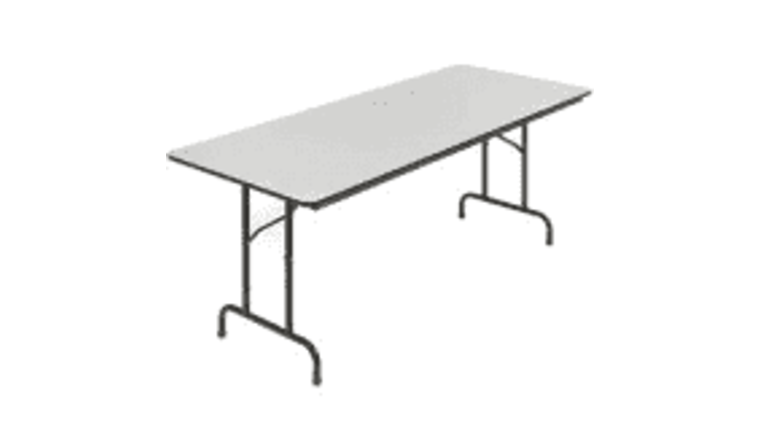 Picture of a 6' Banquet Table
