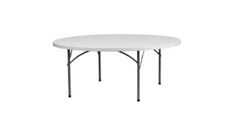 Picture of a 6' Round Table