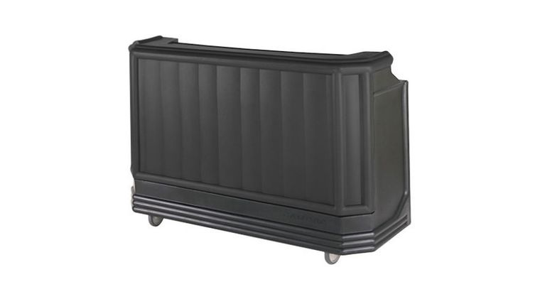 """Picture of a Bar Portable Black 72"""" Wide"""