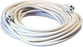 Image of a Cord, Extension, White, 12/3 Heavy Duty 50'