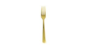 Image of a Fork Dessert / Salad Gold (10 forks)