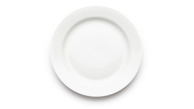 """Picture of a Classic Dinner Plate 10-5/8"""" (18 plates)"""