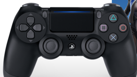 Image of a PS4 Dual Shock Controller