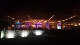 Image of a BC - Market Lights, Ballroom Patio - FAN Pattern