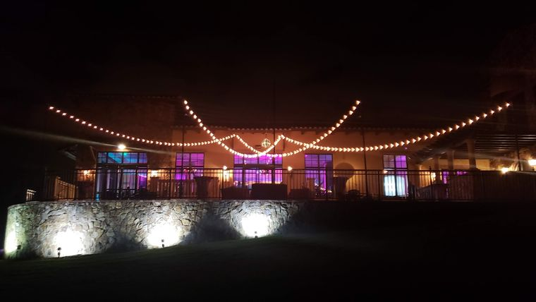 Picture of a BC - Ballroom Patio, Market Lights - FAN Pattern