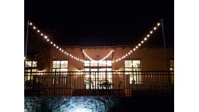 Image of a BC - Ballroom Patio, Market Lights - X Pattern