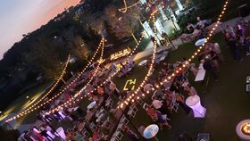 Image of a 4 Seasons - Kings Meadow Lawn, Market Lights - Zigzag