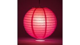 "Image of a 18"" Pink Paper Lanterns"