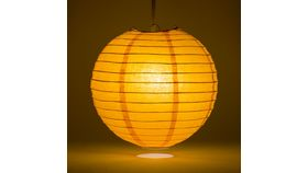 Image of a 3' Orange Paper Lanterns