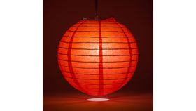 Image of a 3' Red Paper Lanterns