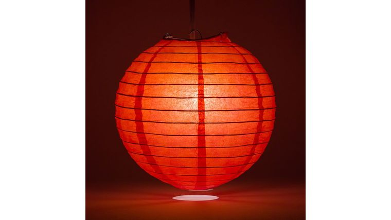 Picture of a 3' Red Paper Lanterns