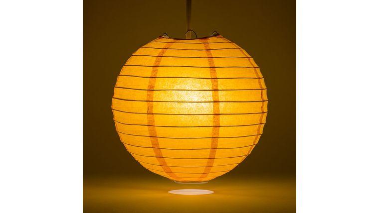 "Picture of a 18"" Orange Paper Lanterns"
