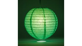 "Image of a 10"" Ice Green Paper Lanterns"