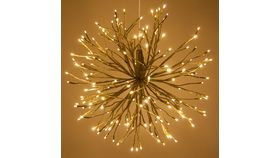 Image of a Gold Starburst - Twinkling