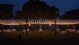 Image of a BC - Grand Lawn, Mini Light Canopy - The SWAGGER