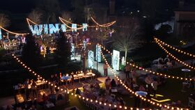 Image of a 4 Seasons - Kings Meadow Lawn, Fairy Lights - Zigzag
