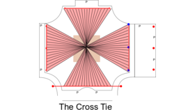 Image of a BC - Grand Lawn, Mini Light Canopy - The CROSS TIE