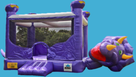 Image of a Belly Dino Bounce House
