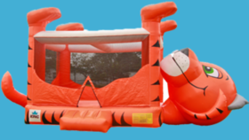 Image of a Belly Tiger Bounce House