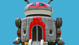 Image of a Robot Bounce House