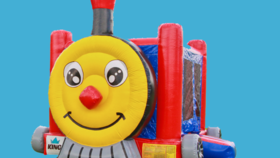 Image of a Thomas the Train Bounce House