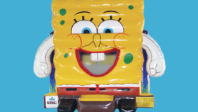 Image of a Spongebob Bounce House