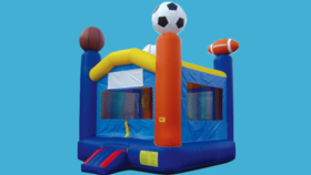 Image of a Sports Bounce House