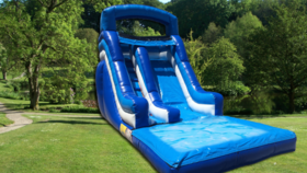 Image of a 17ft Ocean Slide (Wet or Dry)